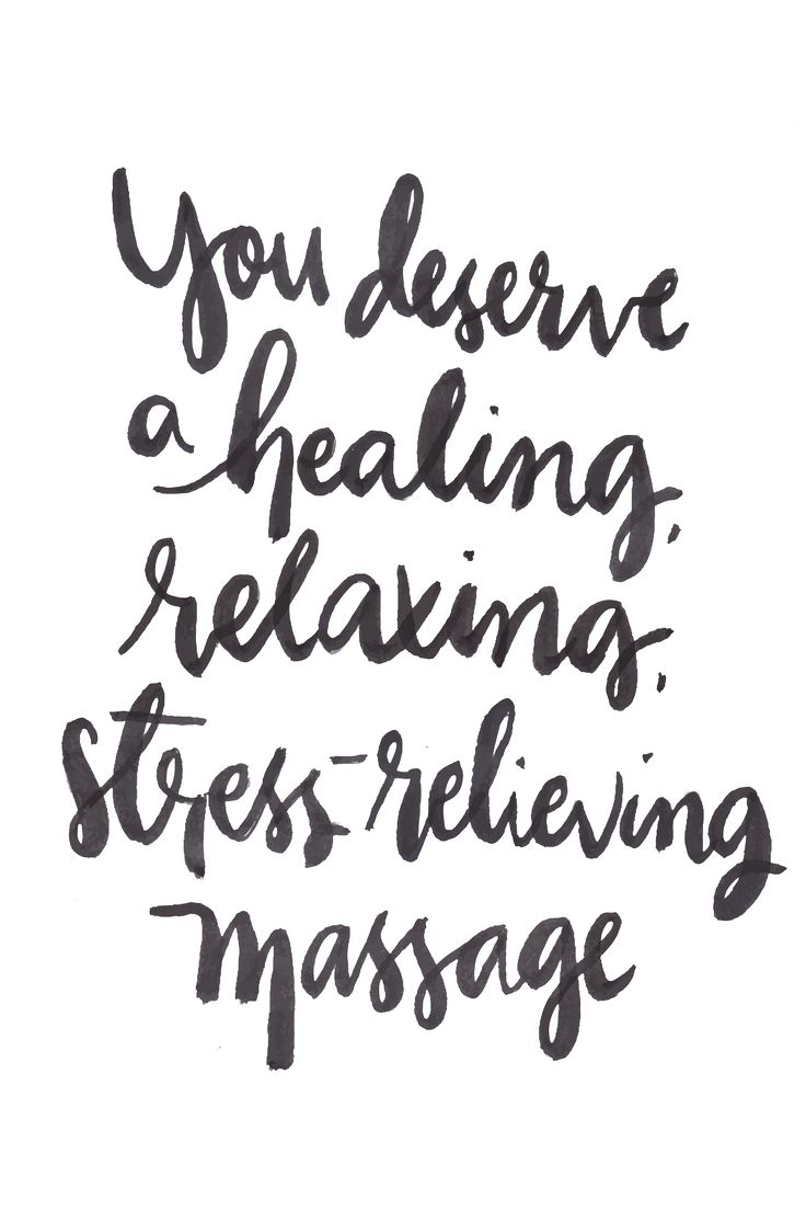 You deserve a healing, relaxing, stress-relieving massage.