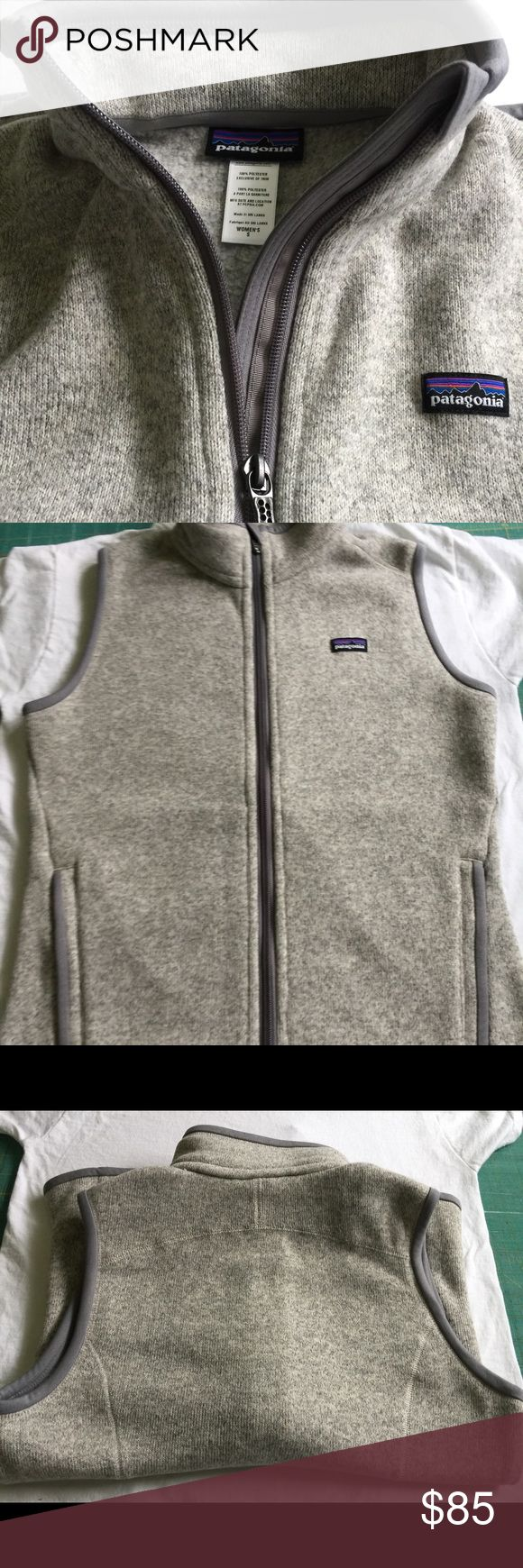 "Patagonia Better Sweater Vest Women's Small Never worn!!! Measures 18"" across the chest. Patagonia Jackets & Coats Vests"