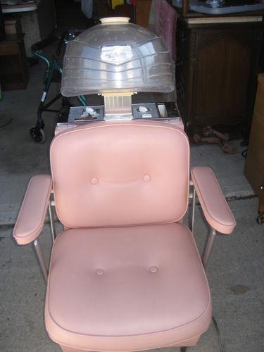 Vintage Turbinator Hair Dryer Chair Salon Equipment Mid Century Modern Working!