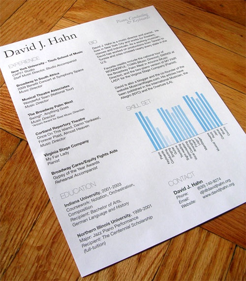 this is a great resume that shows all the information needed - A Great Resume