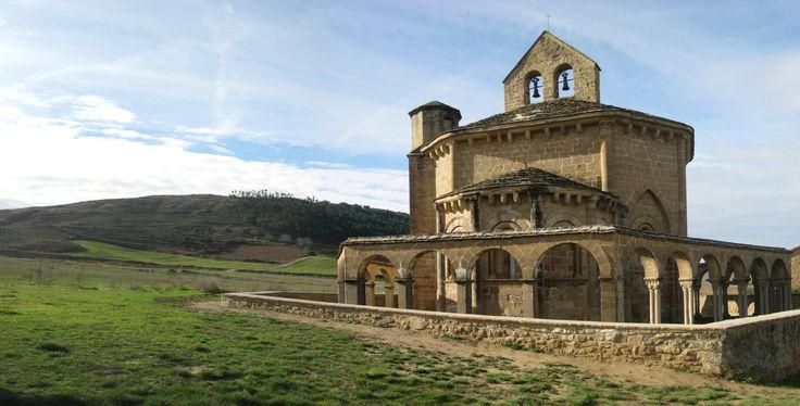 Santa María de Eunate, Navarra, Camino Aragonés