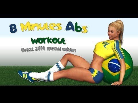 8 Min Abs - Brazil 2014 Edition - YouTube