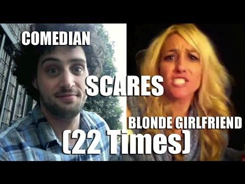 Vine user/comedian Aristotle Georgeson has been lightning up the Internet with his scare pranks on his unsuspecting girlfriend. Whether she's driving, on the phone, or heading out to work, her boyfriend is there to constantly instill a lack of trust in her relationship with him.