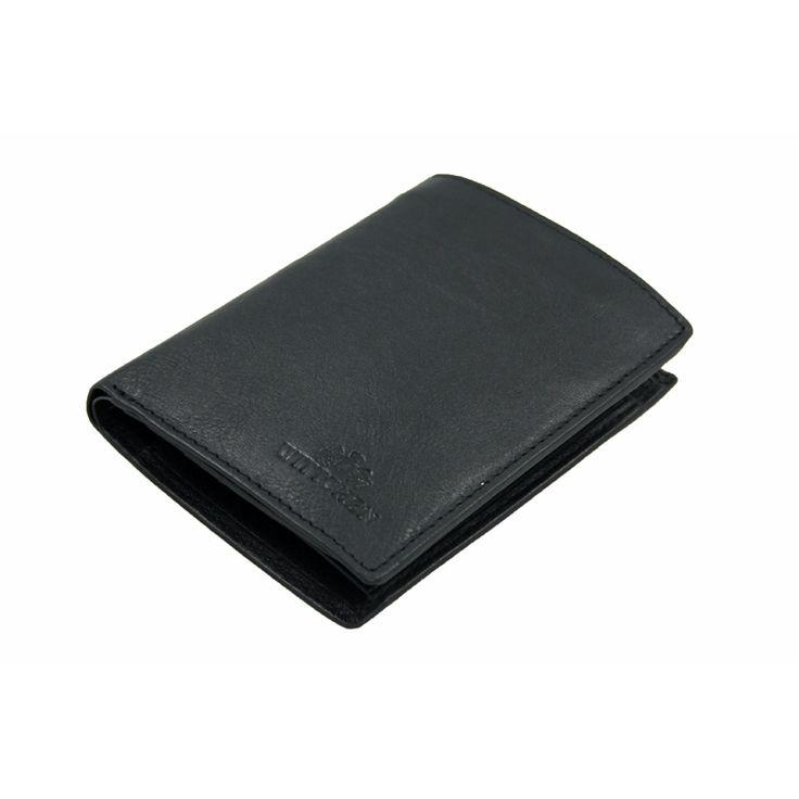 Nieduży portfel męski Wittchen 21-1-023, kolekcja Italy, kolor czarny