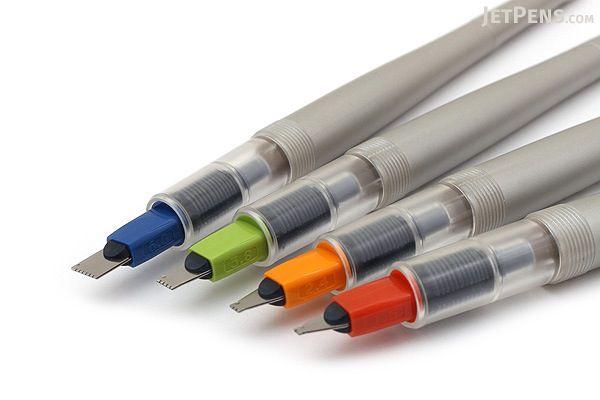 Pilot Parallel Calligraphy Pen - Bundle of 4 Nib Sizes - JETPENS PILOT PARALLEL BUNDLE