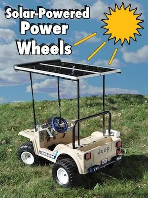 whats it take to build your own solar powered electric car how about starting
