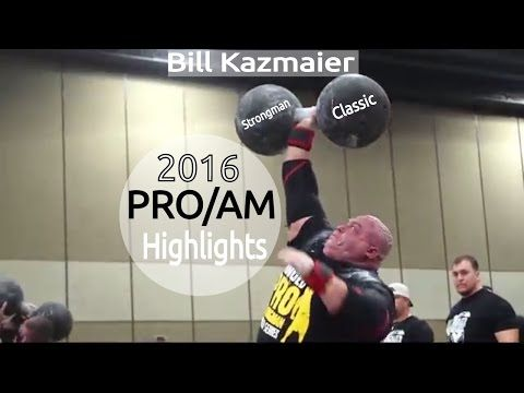 Bill Kazmaier Strongman Classic 2016 | PROAM Highlights | Dimitar Savatinov | Martin Licis - YouTube
