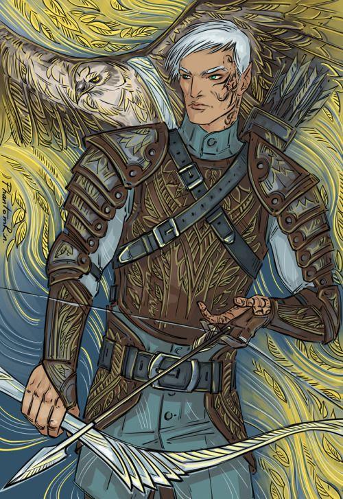 Rowan Whitehorn by PhantomRin. Heir of Fire. Queen of Shadows. Empire of Storms. Sarah J. Maas
