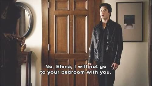 The Vampire Diaries- this is my favorite line out of all of the episodes I've seen! The way he says it, its perfect!