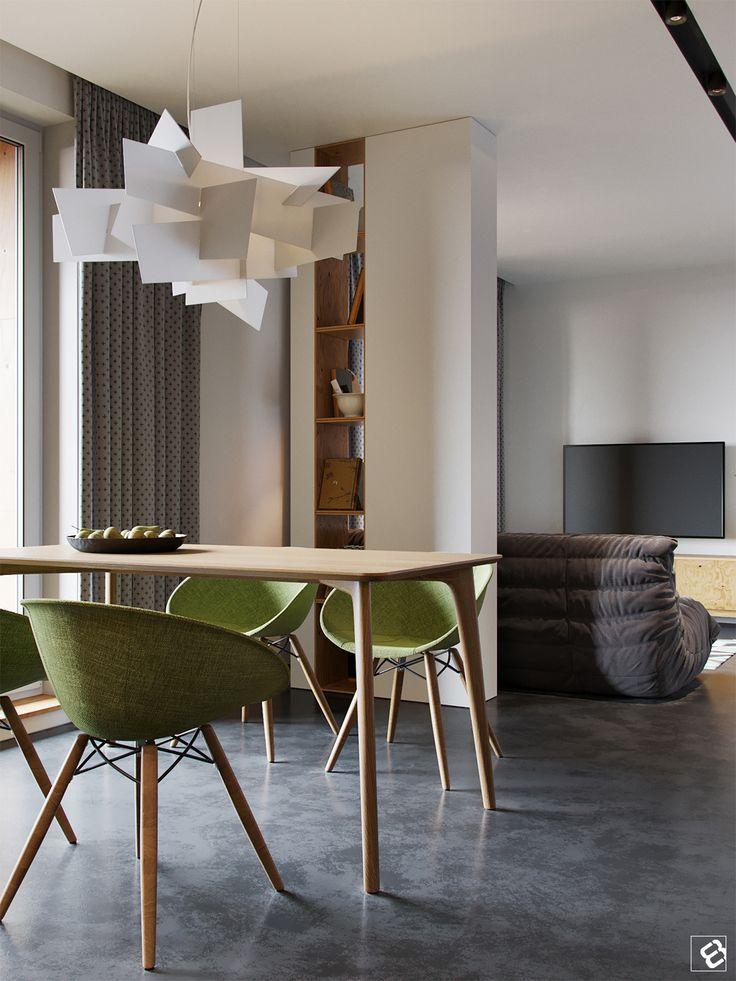Beautiful Modern Interior On Behance