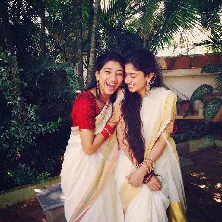 Sai Pallavi with Sister Pooja Kannan Photos 2