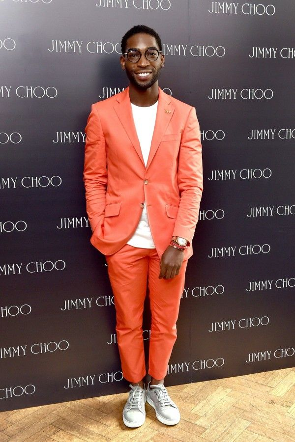 tinie tempah style 2015 | Tinie Tempah At The Jimmy Choo Fashion Show At London Collections: Men ...