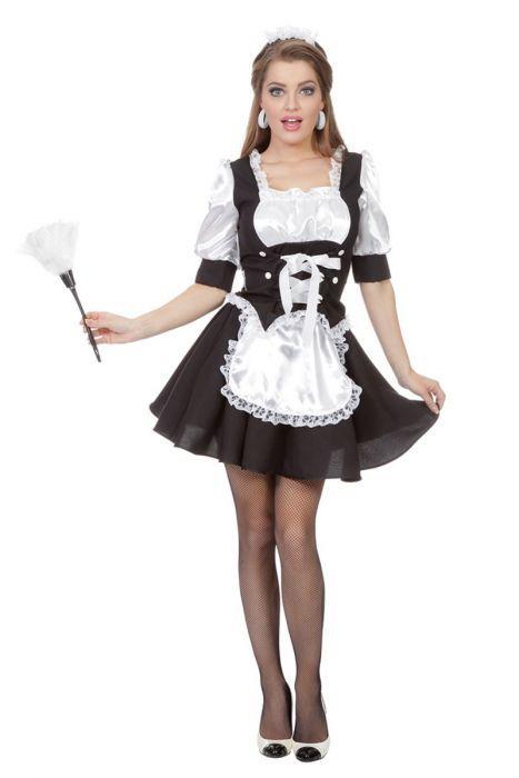644c0cf622b5fe Serveerster of schoonmaakster jurkje Roomservice is super leuk voor de  carnaval. koop er een duster
