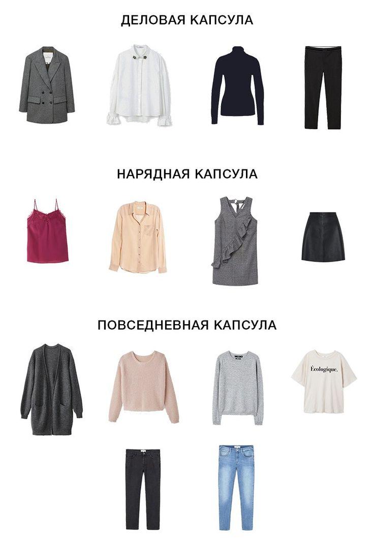 Капсульный гардероб на зиму:  теплая одежда может быть стильной!