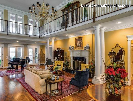Southern Charm Estate Luxury Homes House Interior