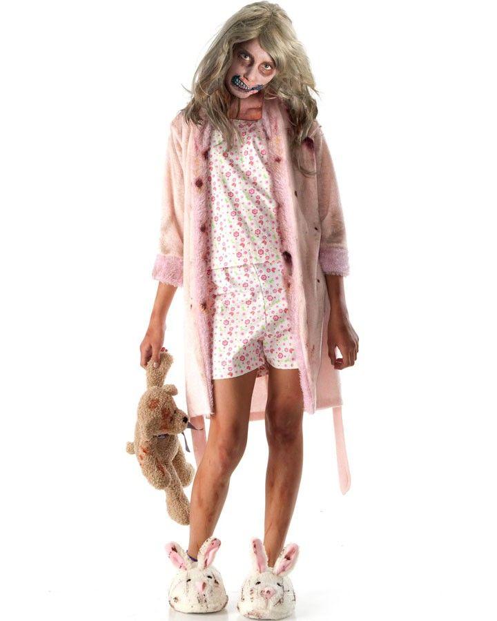 The Walking Dead Little Girl Zombie Girls Costume