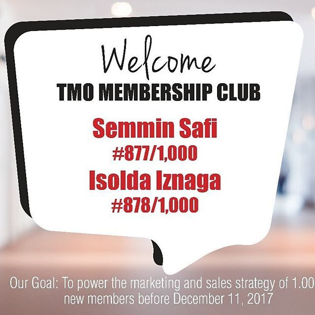 👉 Welcome Members 🔴 Semmin Safi 🔴 Isolda Iznaga 🔴 The Carolinas Realty 🔴 Niurllys Carrera 🔴 Mario Davila 🔴 Florangel Martinez 🔴 Gustavo García 🔴 Paola Buenaventura 🔴 Karem Daal 🔴 Maria Elena Díaz 🔴 Carlos Madero 🔴 Felix Taveras  to TMO Membership Club.  Join us and get unlimited access to hundreds of hours of the highest quality of Real Estate instruction at the world's best price including: ✔ Developing the skills to get more listings ✔ Learning the best strategies for sending…