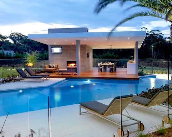 Contemporary architecture pool designs and contemporary for Pool design with bar