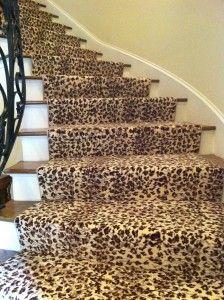 cheetah... My stairs can't wait!
