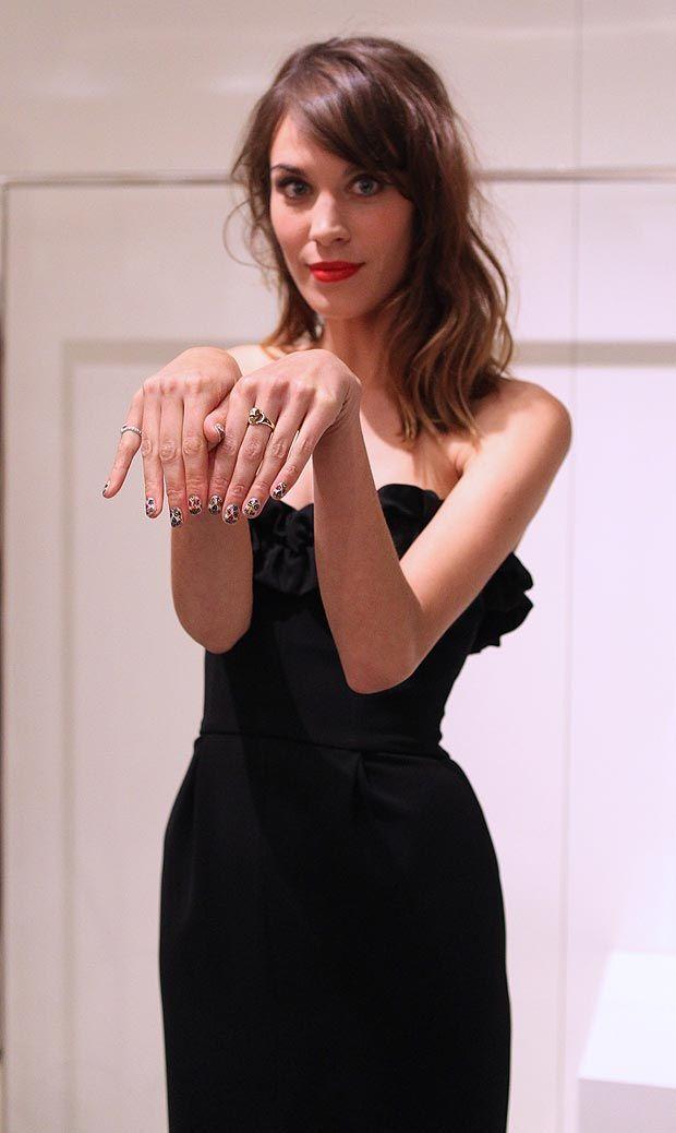 British TV persenter, model, and writer Alexa Chung