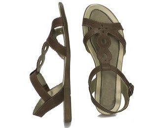 Sandale elegante dama maro talpa joasa