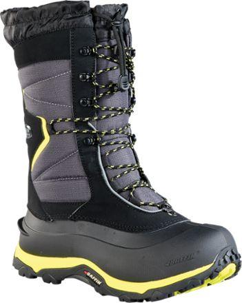 Baffin Men's Sequoia Winter Boots Black/Floro Green 12