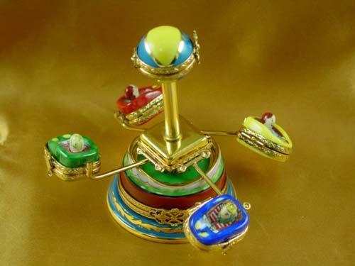 Amusement ride - Porcelain Limoges from France - Limoges Factory Co.