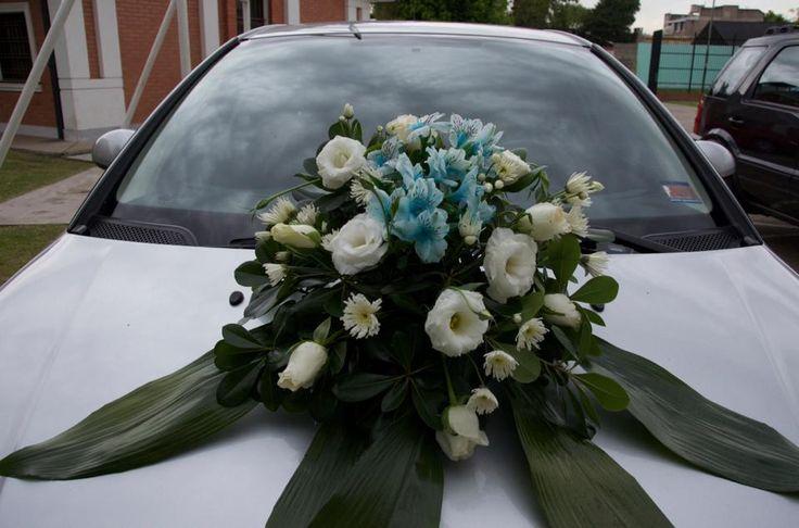 adorno floral del auto