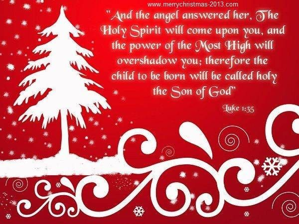 Merry Christmas Wishes Messages Images Quotes with White Tree Clip Art