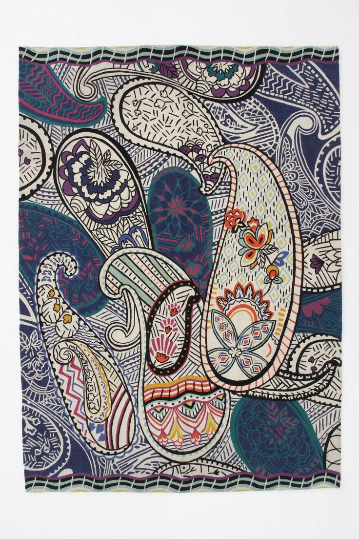 17 best images about my country persian giant paisleys rendered in wool crewelwork are filled sketched and painted flora in a modern nod to traditional n motifs shanti paisley rug