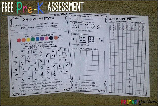 Free Pre-K Assessment