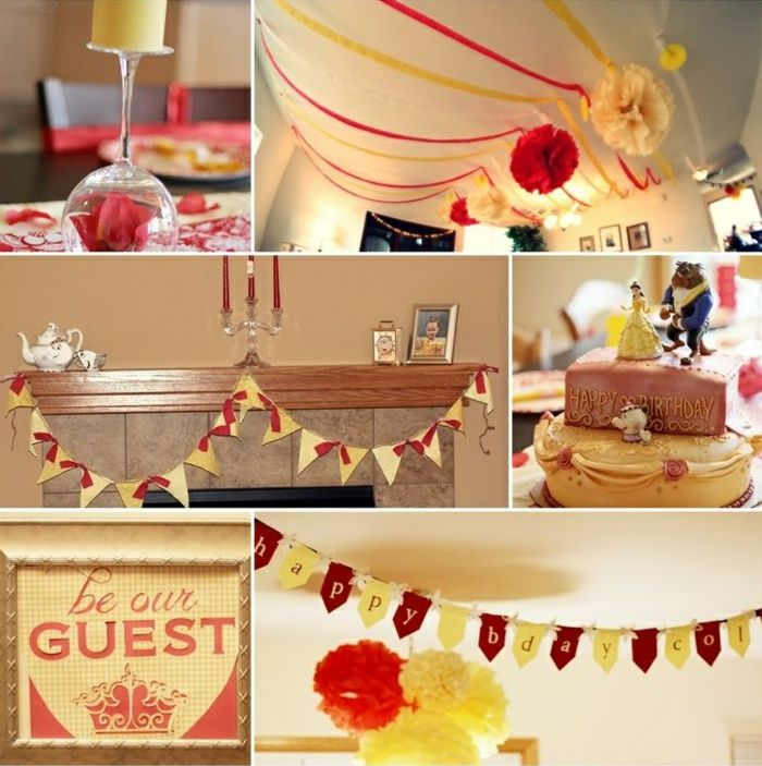Belle Birthday Decorations 32 Best My Home Made Celebration Collection Images On Pinterest