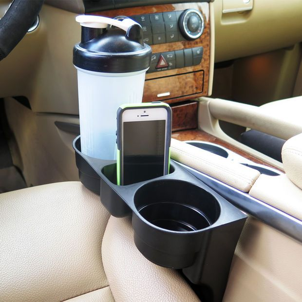 Evelots Seat Wedge Cup Holder, Car,Vehicle,SUV,Truck Accessory, Beverage Holders