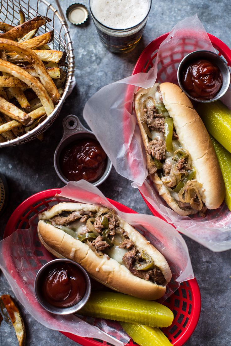 Crockpot Philly Cheesesteaks | Half Baked Harvest @hbharvest