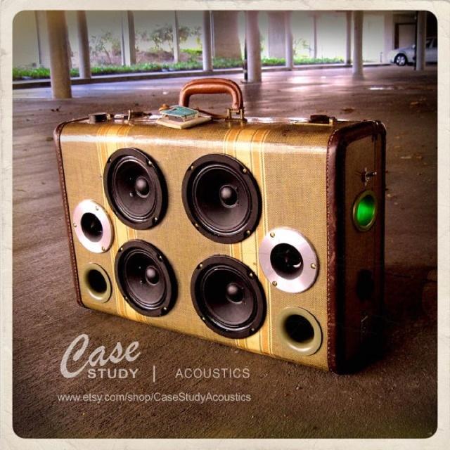 Case Study Acoustics Boombox