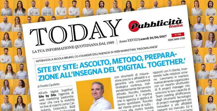 NEWS! Pubblicità Italia parla di noi! Leggi l'intervista al nostro Co-Founder Nicola Bruno.