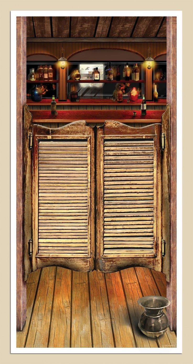 5' Saloon Door Cover from BirthdayExpress.com