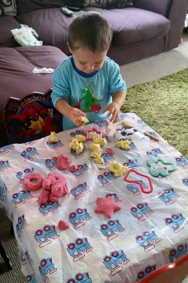Homemade playdough! https://m.facebook.com/story.php?story_fbid=943773782384282&id=943741719054155