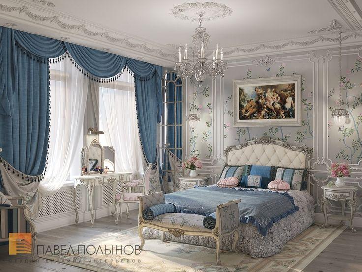 Фото: Дизайн спальни - Интерьер шестикомнатной квартиры в классическом стиле, Малый пр. П.С., 160 кв.м.
