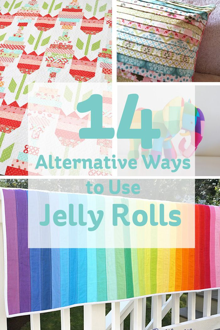Jelly rolls are a fab little product that can be used in a wide range of projects. Longer and thinner than fat quarters, they are ideal for quilting projects of all kinds!