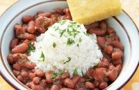 Vegetarian Louisiana-Style Red Beans and Rice :: Recipes :: Camellia Brand