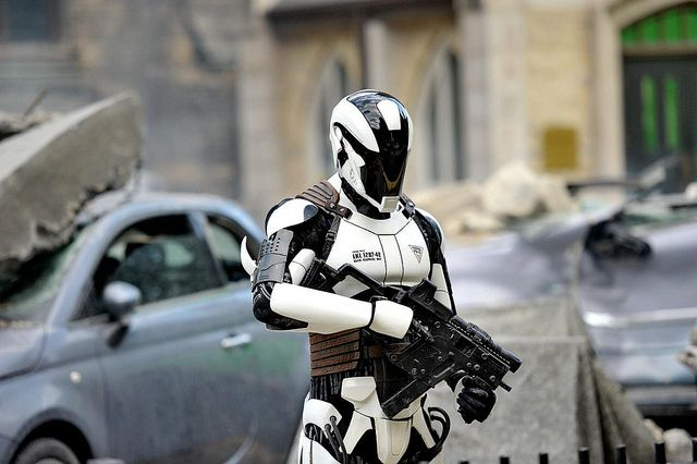 Synthetic Police Are Coming DARPA Engineering Autonomous Robots