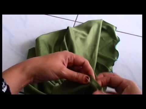 Tutorial Jahit Tudung Part 4 khusus untuk lapik dagu