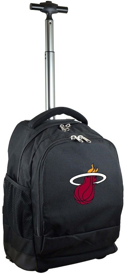 NBA Miami Heat Premium Wheeled Backpack