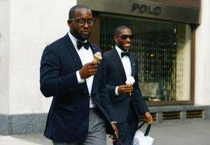 Tommy Ton stalkt de meest stijlvolle mannen in Londen |