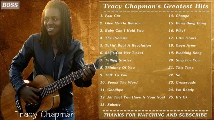 Tracy Chapman | Best Of Tracy Chapman | Tracy Chapman Greatest Hits Full... see dali48 and favourite Music etc...