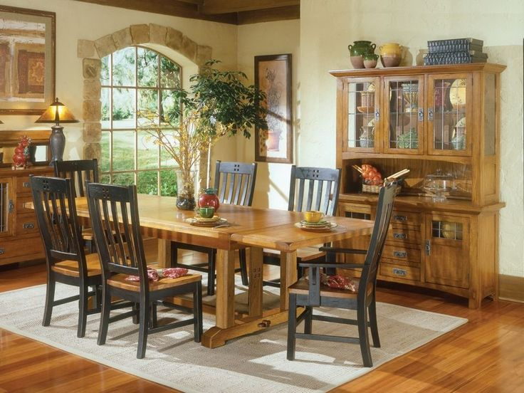 25 best ideas about Rustic dining room sets on Pinterest