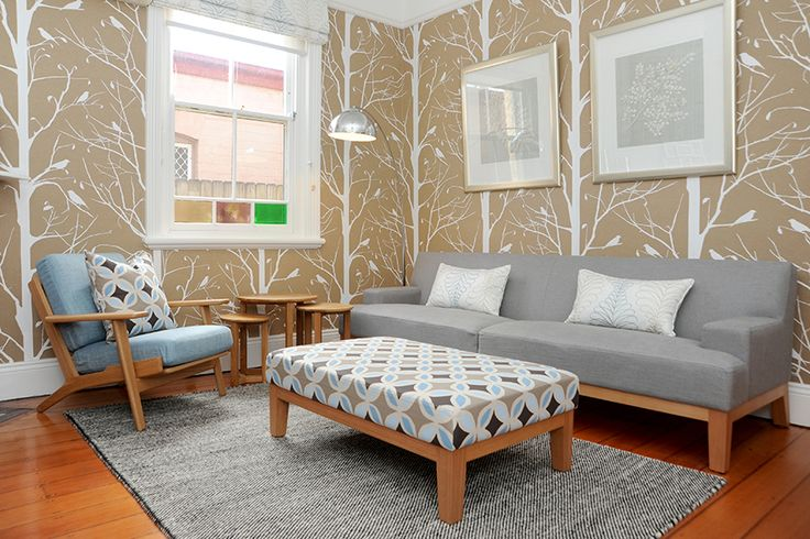 Glebe home traditional/vintage lounge