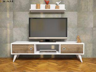 Comoda Tv Aspennuc- alb 002