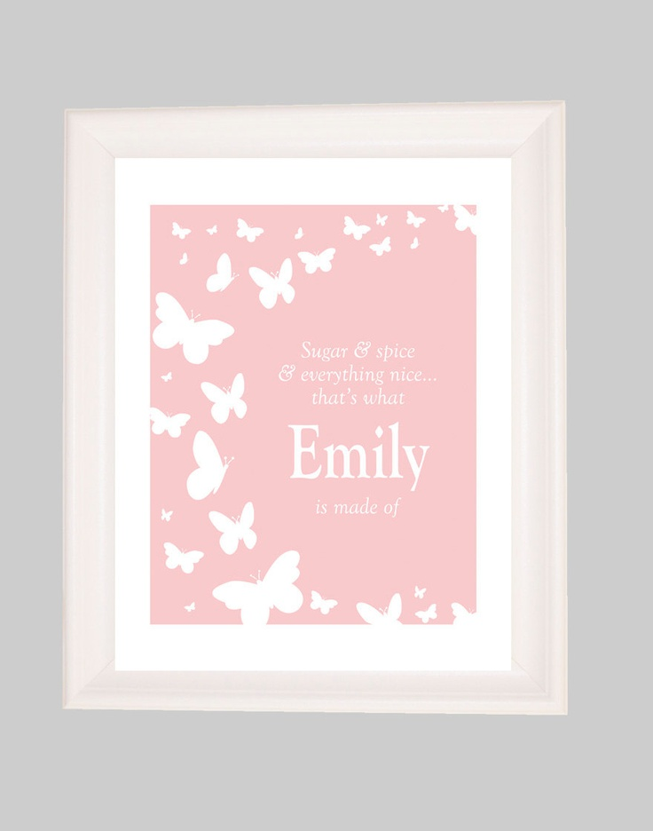 Personalized Name Wall Art 147 best wall art for baby images on pinterest | babies nursery